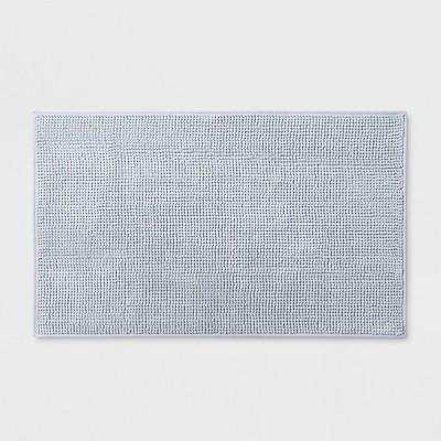 20 x34  Heathered Bath Rug Quiet Aqua - Made By Design™