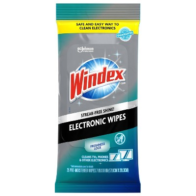 Windex Electronics Wipes - 25ct