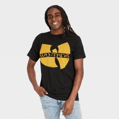 Men's Wu-Tang Clan Logo Short Sleeve Graphic T-Shirt - Black