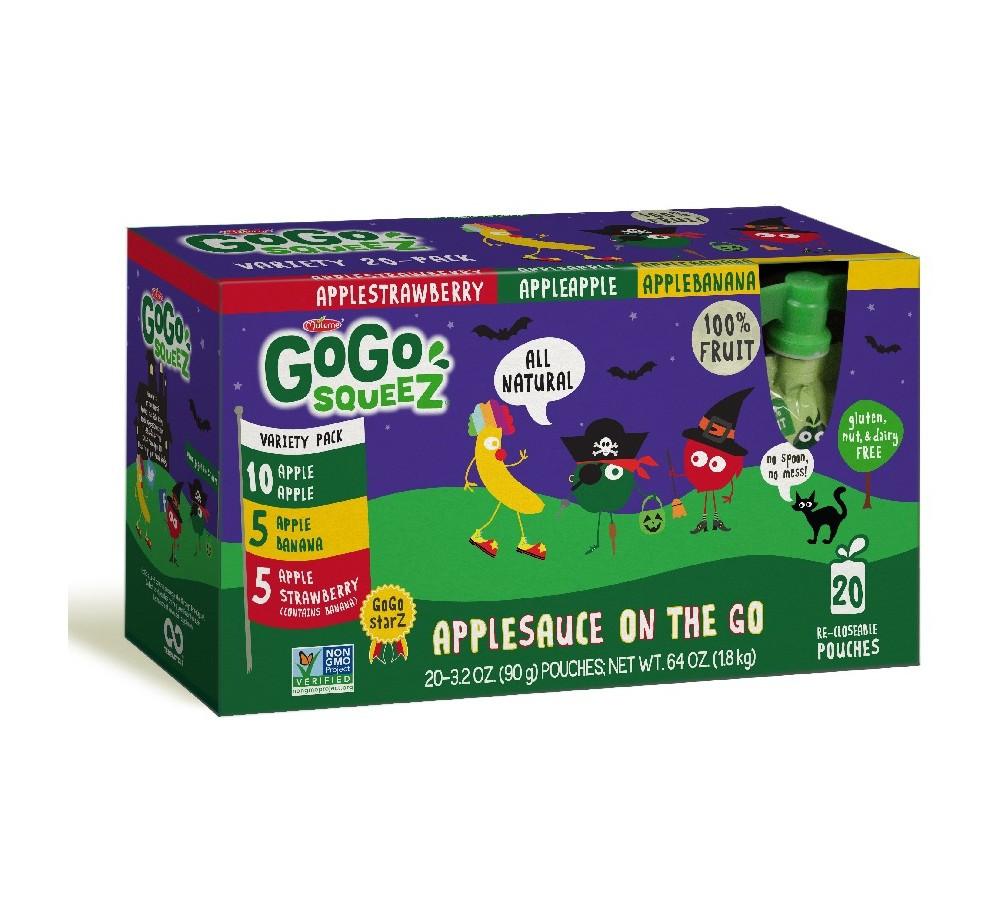GoGo SqueeZ Applesauce On The Go - 64oz 20ct