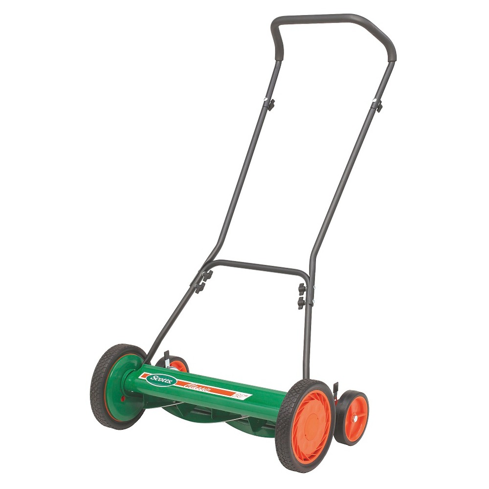"Image of ""20"""" Scott's Classic Reel Lawn Mower - Multi Color - American Lawn Mower"""