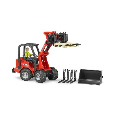 Bruder Schaeffer Compact Loader 2034 with figure & accessories