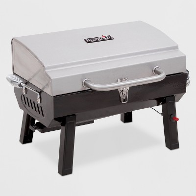 Char-Broil Deluxe Tabletop 10,000 BTU Gas Grill 465640214 - Gray