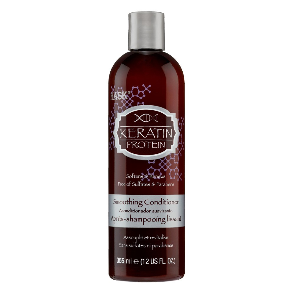Image of Hask Keratin Protein Smoothing Conditioner - 12 fl oz