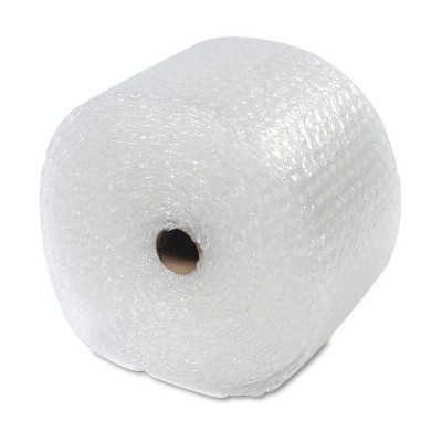 """Sealed Air Recycled Bubble Wrap Light Weight 5/16"""" Air Cushioning 12"""" x 100ft 48561"""