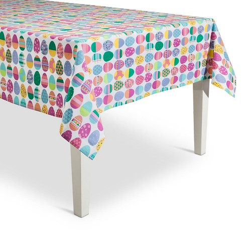 Easter Egg Tablecloth - image 1 of 1
