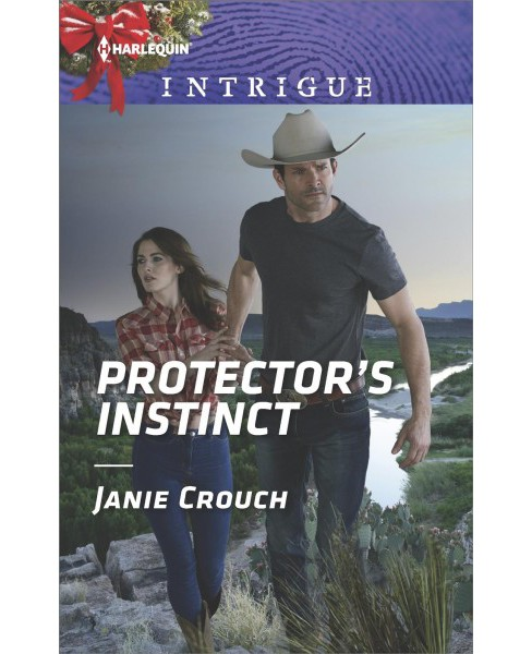 Protector's Instinct -  (Harlequin Intrigue Series) by Janie Crouch (Paperback) - image 1 of 1