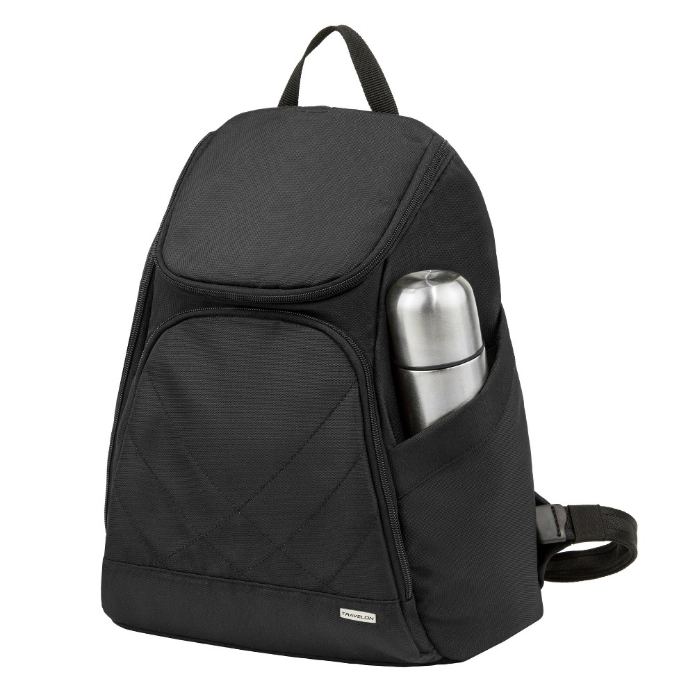 "Image of ""Travelon 16"""" Anti-Theft Classic Backpack - Black"""