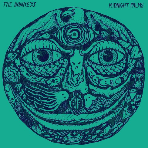 Donkeys - Midnight palms (CD) - image 1 of 1