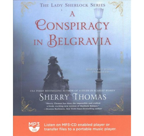 Conspiracy in Belgravia (MP3-CD) (Sherry Thomas) - image 1 of 1