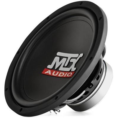 "Mtx Audio 10"" 300W Car Power 84.9 dB 4 OHM Single Voice Coil Subwoofer TN10-04"