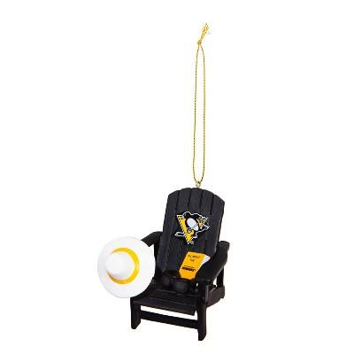 Evergreen Pittsburgh Penguins Adirondack Chair Ornament