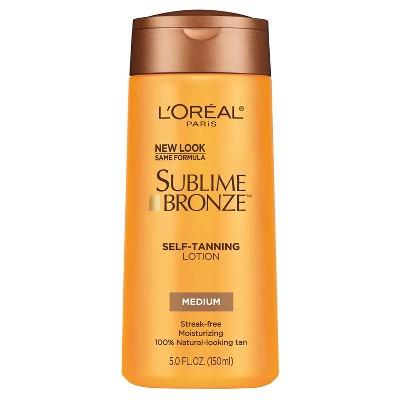 L'Oreal® Paris Sublime Bronze™ Self-Tanning Lotion Medium Natural Tan - 5 fl oz