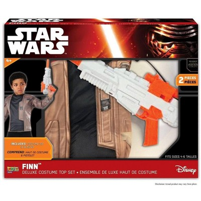 Rubies Star Wars: The Force Awakens Finn Child's Costume Set
