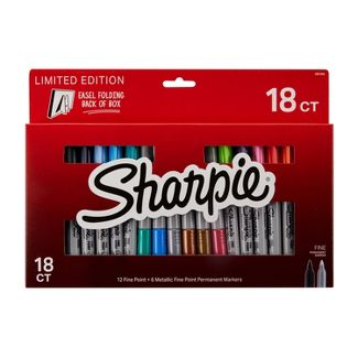Sharpie 18ct Fine Point Permanent Marker