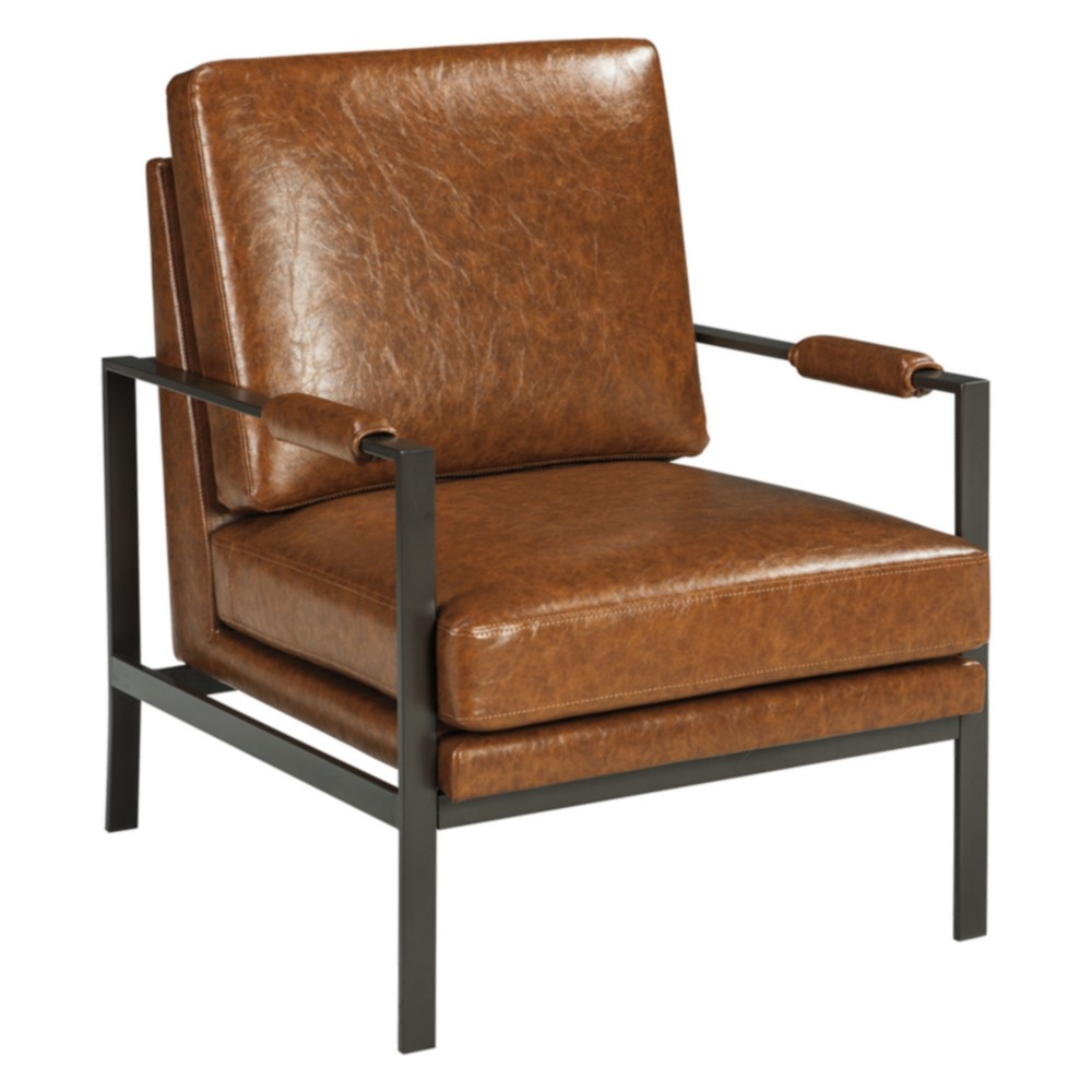 Peacemaker Accent Chair Brown - Signature Design by Ashley, Brown Shimmer