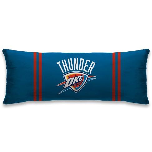 """NBA Oklahoma City Thunder 20""""x48"""" Body Pillow - image 1 of 1"""