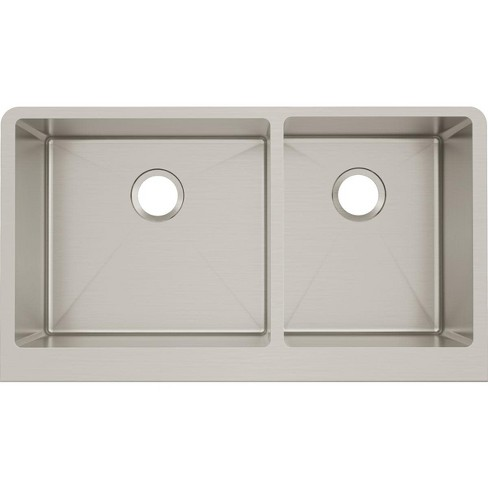 "Elkay CTXF234179 Crosstown 35-7/8"" Drop In Dual Basin Stainless Steel Kitchen Sink - image 1 of 4"