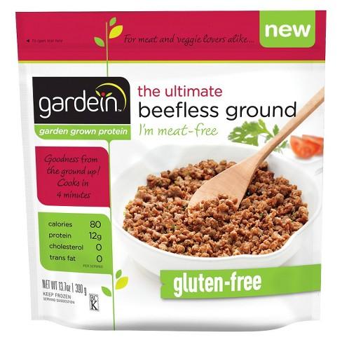 Gardein The Ultimate Beefless Ground Frozen Gluten Free - 13.7oz - image 1 of 1