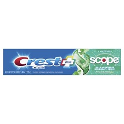 Crest + Scope Complete Whitening Toothpaste Minty Fresh - 5.4oz