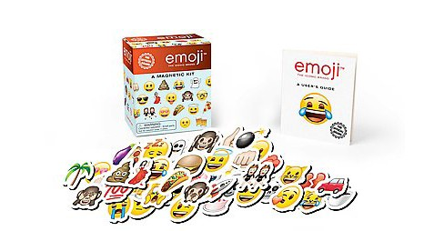 Emoji : A Magnetic Kit (Hardcover) - image 1 of 1