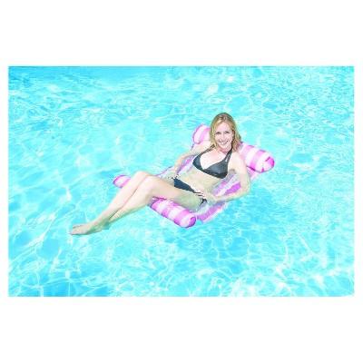 Poolmaster Water Hammock Lounge - Pink
