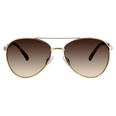 b656d5541a8 Women s Aviator Sunglasses - Gold