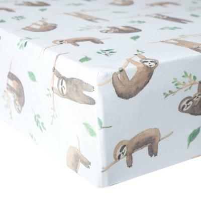 Copper Pearl Premium Crib Sheet - Noah