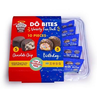 Better Bites Gluten Free Vegan DŌ Bites Variety Pack - 10ct