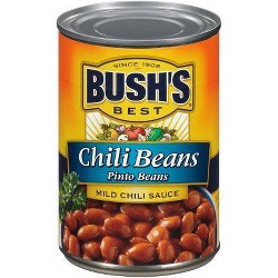 Bush's Mild Pinto Chili Beans - 16oz