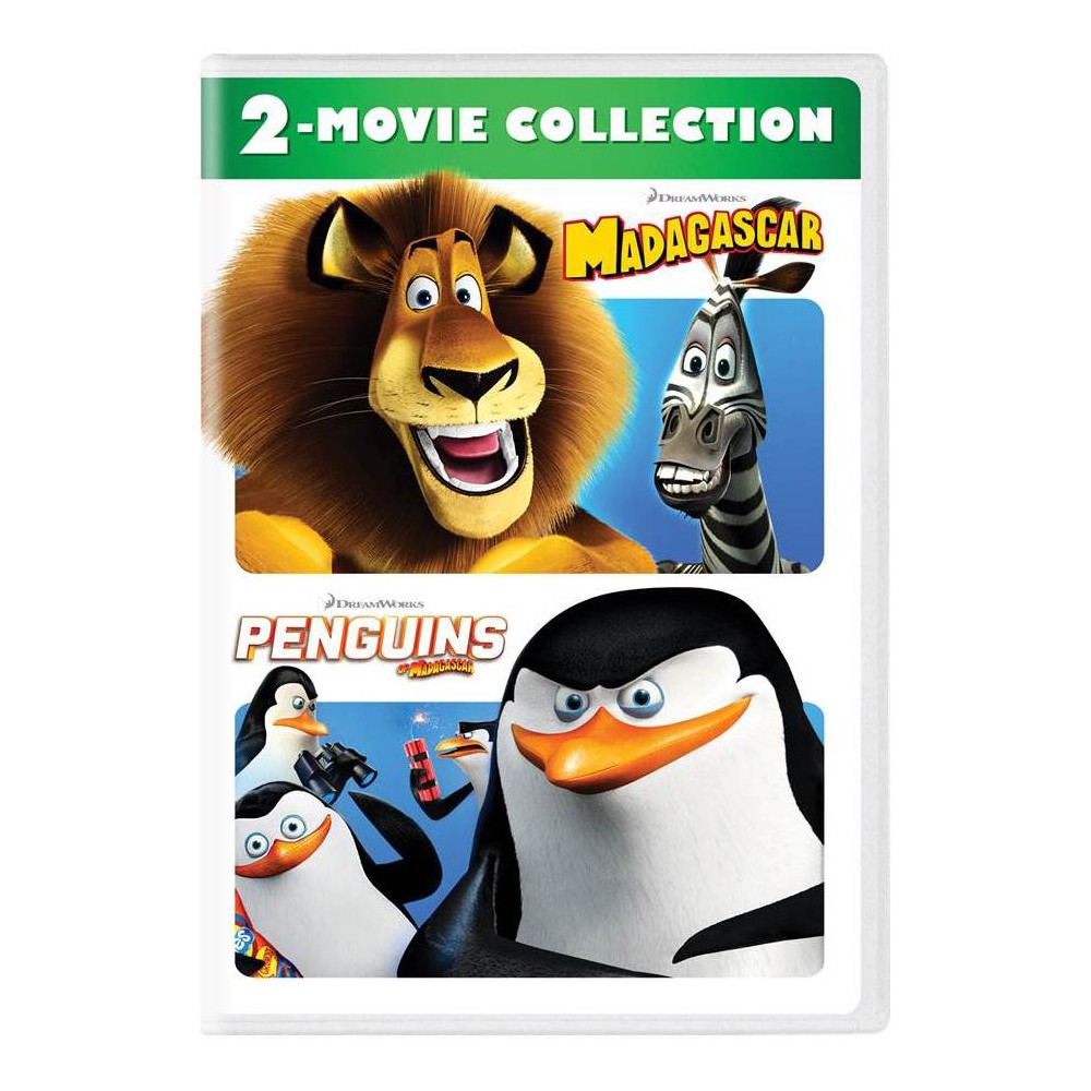 Madagascar/Penguins of Madagascar 2-Movie Collection (Dvd)