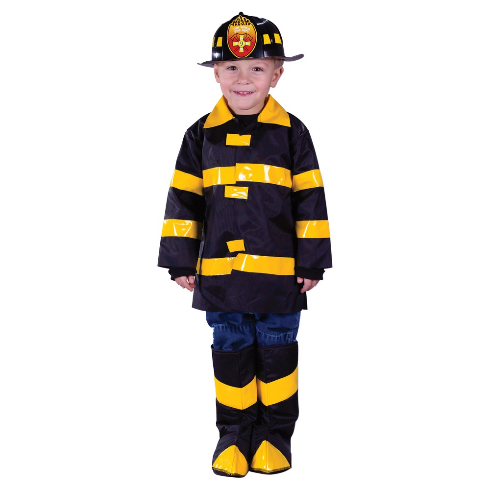Boys' Fire Chief Toddler Costume Large 3t-4t, Multi-Colored