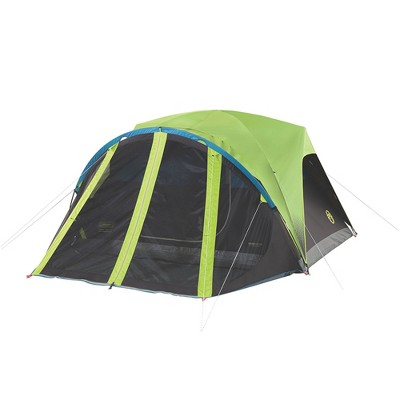 Coleman Carlsbad 4 Person Family Size All Season Dark Room Tent Green (2 Pack)  Target  sc 1 st  Target & Coleman Carlsbad 4 Person Family Size All Season Dark Room Tent ...