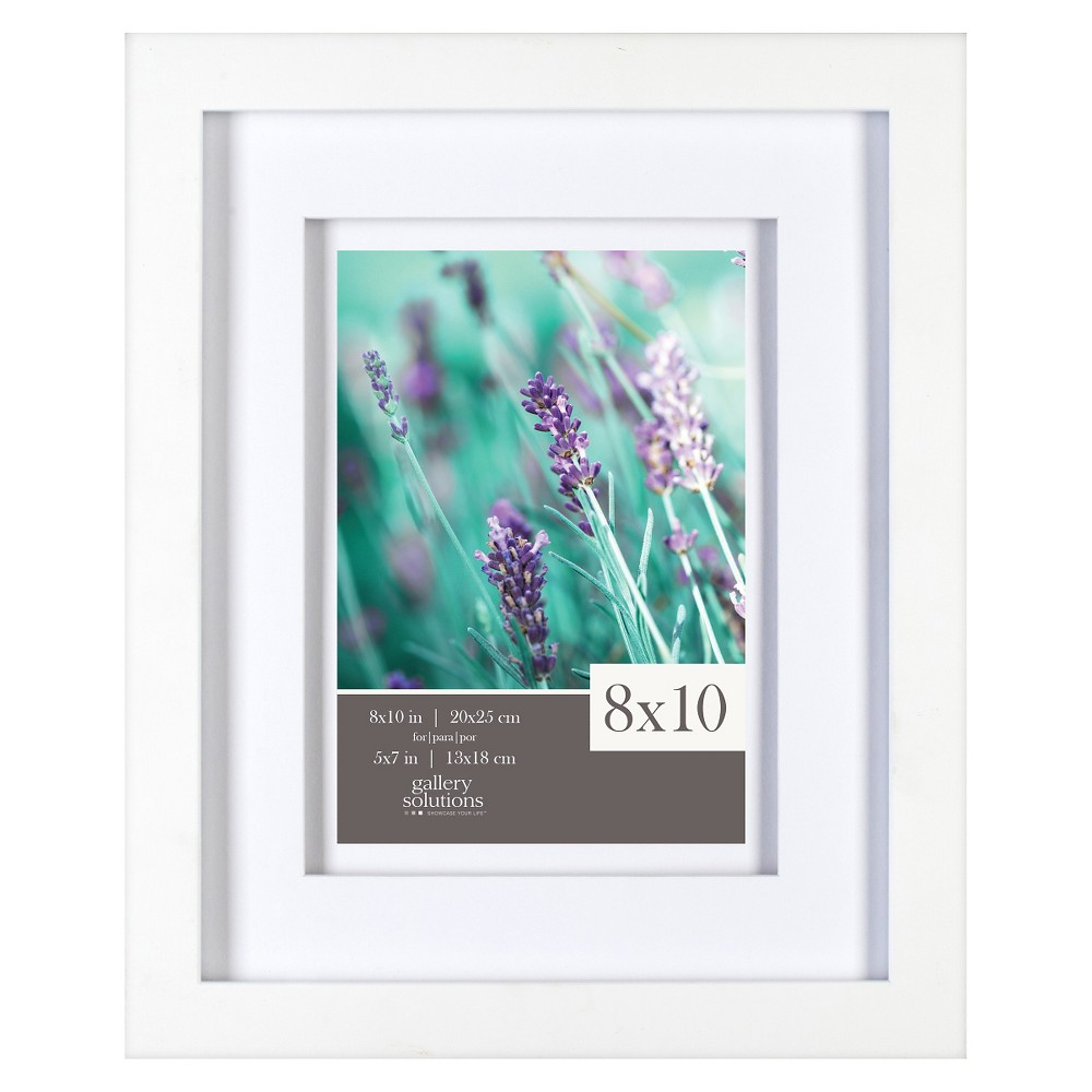 "Image of ""5"""" x 7"""" Frame White - Gallery Solutions"""