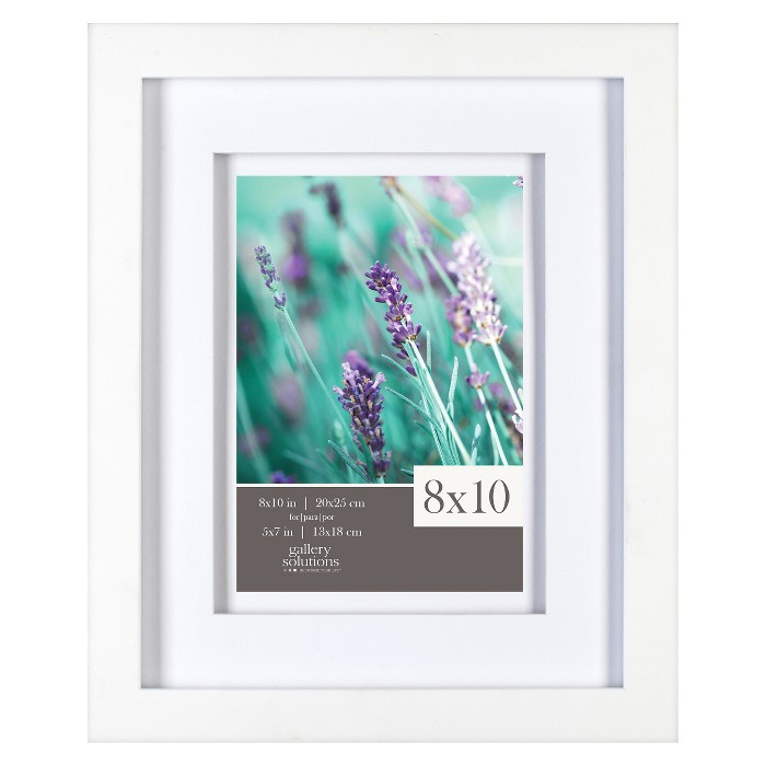 "Gallery Solutions 8""x10"" Frame - White - image 1 of 3"