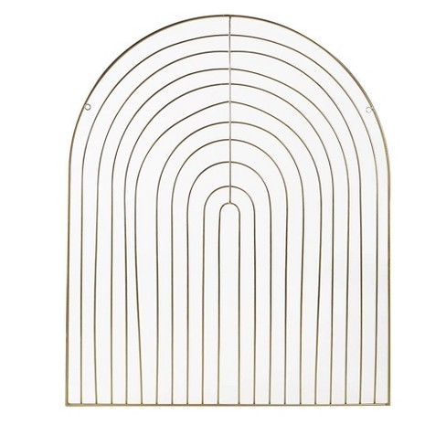 Metal Gold Rainbow Wall Decor - Project 62™ - image 1 of 1