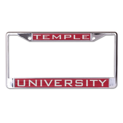 NCAA Temple Owls License Plate Frame - image 1 of 1