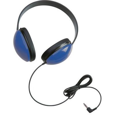 Califone Childrens Stereo Blue Headphone Lightweight - Stereo - Blue - Mini-phone - Wired - 25 Ohm - 20 Hz 20 kHz - Over-the-head - Binaural