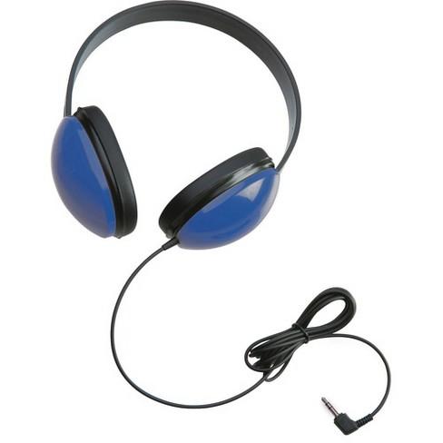 Califone Childrens Stereo Blue Headphone Lightweight - Stereo - Blue - Mini-phone - Wired - 25 Ohm - 20 Hz 20 kHz - Over-the-head - Binaural - image 1 of 1