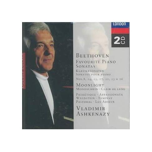 Beethoven - Beethoven:Moonlight Sonata (CD) - image 1 of 1