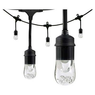 12' Café LED Lights 6 Acrylic Bulbs - Enbrighten
