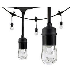 18' Caf LED Lights 9 Acrylic Bulbs - Enbrighten