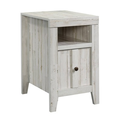 Dakota Pass End Table White Plank - Sauder