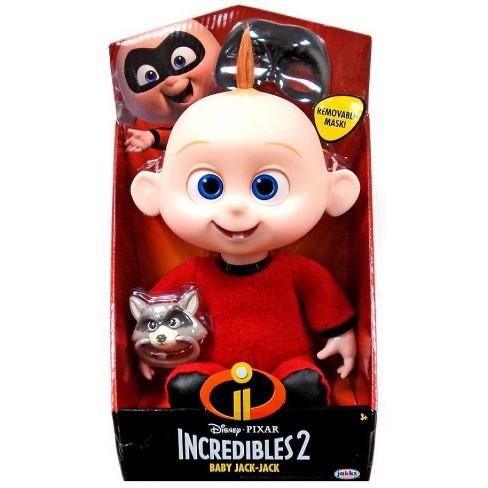 Disney Pixar Incredibles 2 Baby Jack Jack Plush Doll Target