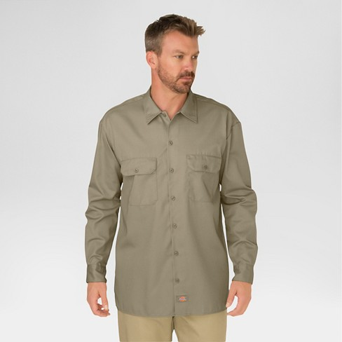 Dickies Men's Big & Tall Original Fit Long Sleeve Twill Work Shirt - image 1 of 2