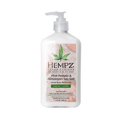 Hempz Pink Pomelo and Himalayan Sea Salt Herbal Body Moisturizer - 17 fl oz