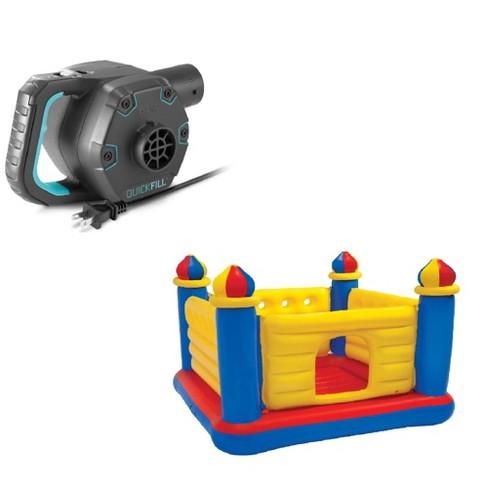 Intex Quick Fill Electric Pump & Intex Inflatable Jump-O-Lene Kids Ball Pit - image 1 of 4
