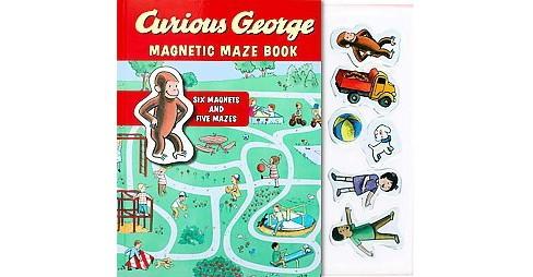 Curious George Magnetic Maze Book ( Curious George) (Hardcover) by H. A. Rey - image 1 of 1