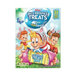 Rice Krispies Treat Spring Mini Marshmallow Squares - 32ct