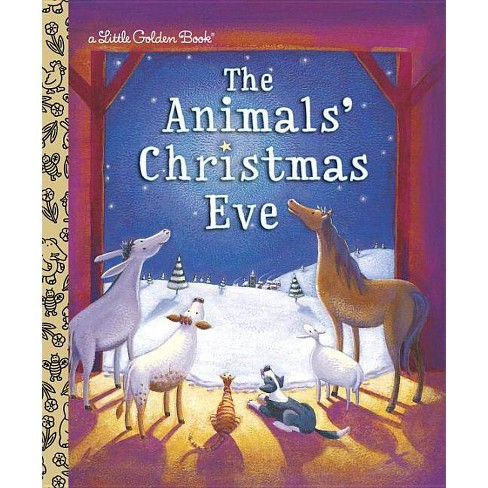 The Animals' Christmas Eve - (Little Golden Book) by  Gale Wiersum (Hardcover) - image 1 of 1